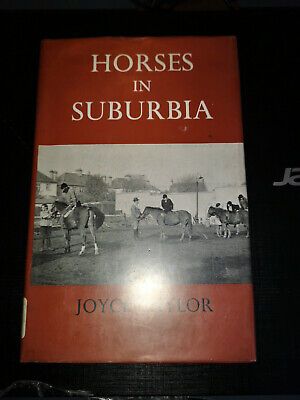 Horses in Suburbia Joyce Taylor Towns Cities Racing Race Riding Show Jumping UK