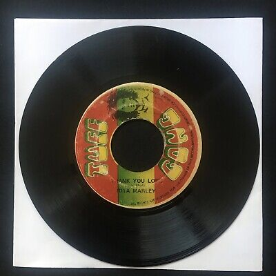 "RITA MARLEY Thank You Lord TUFF GONG Jamaica Press 7"" 45 VINYL REGGAE ROOTS"