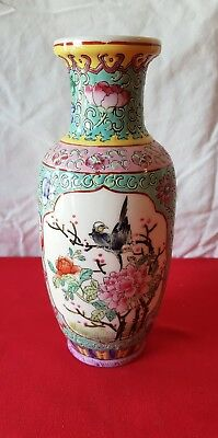 Ancien Vase Chinois Signé