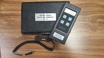 Electro-Therm Digital Thermometer Tc100A Item 353715-A3