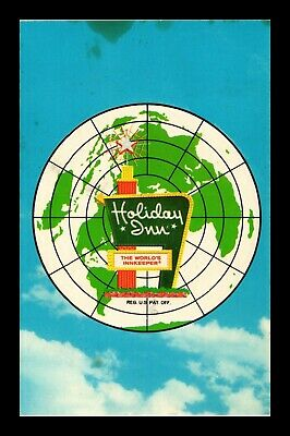 Dr Jim Stamps Us Holiday Inn Worlds Innkeeper Postcard Waterloo New York 1979