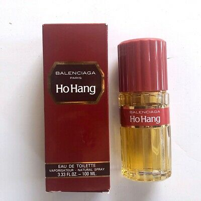 9d51c6971b2be VINTAGE BALENCIAGA HO Hang Eau De Toilette 10ml Sample Glass Spray ...