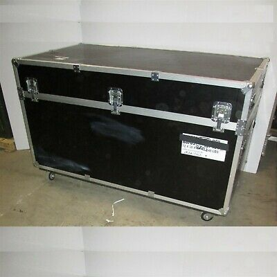 72x38x44 Trade Show Booth Display Road Case Trunk  w/Wheels Jumbo Size