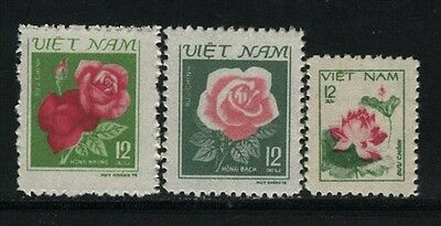 N.Vietnam MNH Sc # 1084-85 Mi 1125-27  Value $ 4.25  US