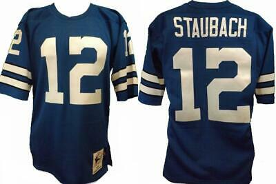 d19317ae NEW W/ TAG MITCHELL & NESS Football DALLAS COWBOYS Roger STAUBACH ...