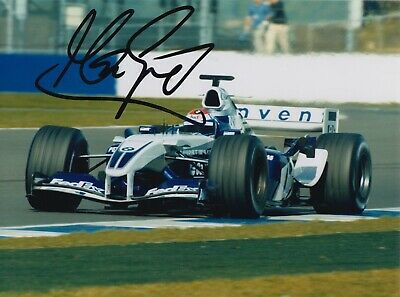 Marc Gene Hand Signed 8x6 Photo - F1 Williams Autograph.