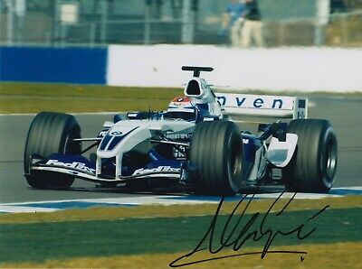 Marc Gene Hand Signed 8x6 Photo - F1 Williams Autograph 1.