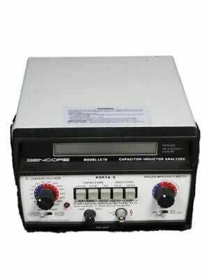 Sencore Lc76 Capacitor Inductor Analyzer Porta-Z