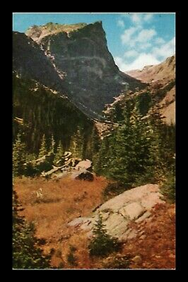 Dr Jim Stamps Us Mt Hallett Rocky Mountains National Park Colorado Postcard