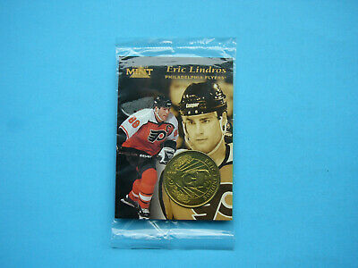 1997 1997/98 Pinnacle Mint Collection Nhl Hockey Card Coin #3 Eric Lindros Mint
