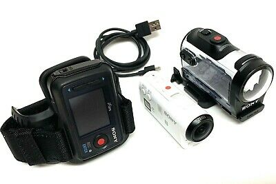Sony HDR-AZ1 Action Cam Mini with Wi-Fi & Waterproof Case & Live-View Remote