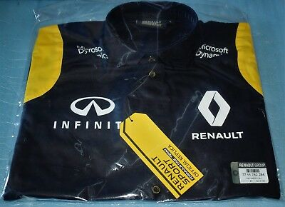Long Sleeve Shirt Renault Sport Formula One Team Replica F1 the New Size L