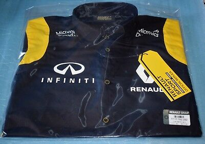 Long Sleeve Shirt Renault Sport Formula One Team Replica F1 SIZE S NEW