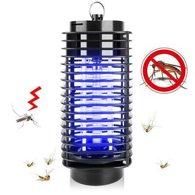 Electric UV Light Mosquito Killer Quiet Insect Fly Bug Zapper Trap Catcher