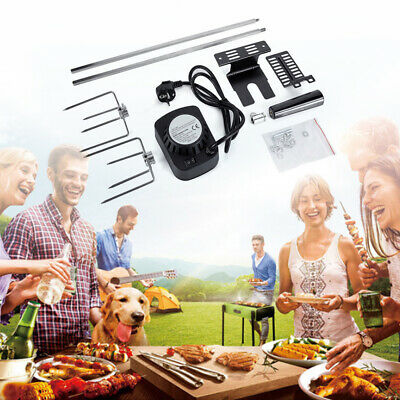 BBQ Electric / Battery Barbecue Rotisserie Spit Universal Kit Roast Grill Motor