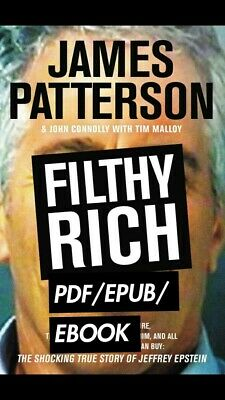 Filthy Rich by James Patterson 🔥Same day shipping!🔥