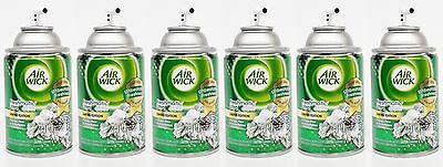 6 Air Wick Freshmatic FROSTED PINE & SNOWFLAKES Automatic Spray Refill NO CAPS