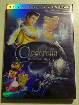 Cinderella Brand New DVD 2-Disc Special Edition Platinum Collection Ships Free