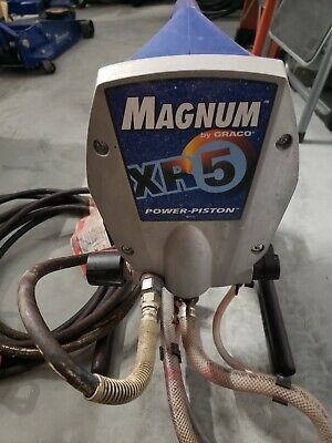 Graco Magnum XR5 Stand Airless Paint Sprayer,Excellent Condition.