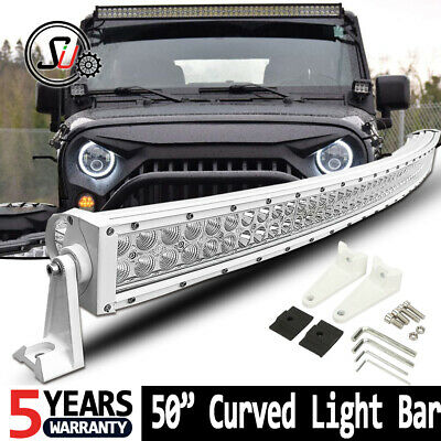 54inch 700W LED Straight Light Bar Combo Offroad SUV Tractor UTE