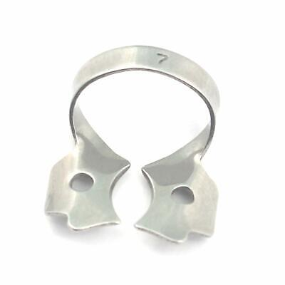 Pack of 6 - Dental Rubber Dam Clamp #7 Endodontic Surgical Instruments