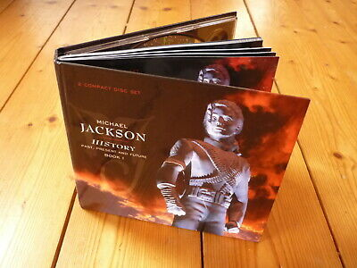 Michael Jackson – HIStory - Past, Present And Future - Book I DIGIBOOK ! 2CD
