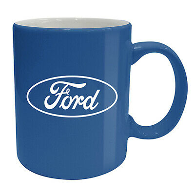 Ford Racing Blue Logo Coffee Cup