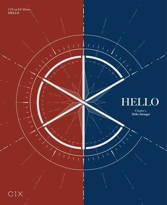 CIX - Hello, Stranger (1st EP) CD+2Photobooks+3Photocards
