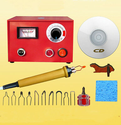 50W Adjustable Multifunction Pyrography Machine Gourd Wood Pyrography Craft Tool