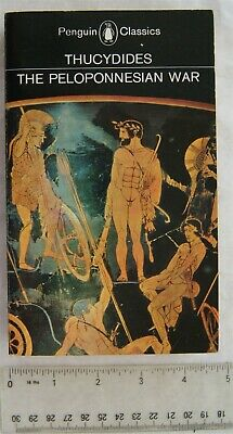 1984 Thucydides, History of the Peloponnesian War, Penguin Classics