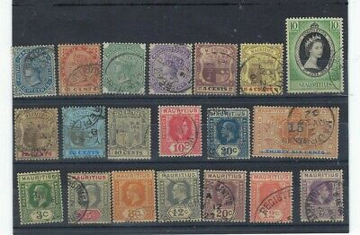 Timbre Mauritius / Ile Maurice Collection De Timbres Obliteres