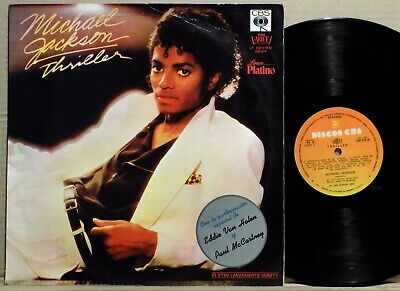 MICHAEL JACKSON Thriller Uruguay 1982 LP on CBS Variety RaRe