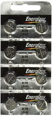 Energizer A76 LR44 1.5V Watch / Electronic Button Cell Battery (20 Pack) 20