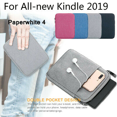 Canvas Soft Sleeve Bag Case Cover Pouch For Amazon All-New Kindle 10th Gen