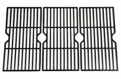 Matte Enamel Cast Iron Cooking Grates Cast Iron Grid Gas For Charbroil Set of 3