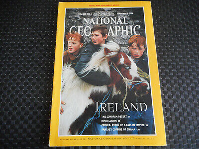 National Geographic Ireland Vol 186 / N° 3 / September 1994 ( En Anglais )