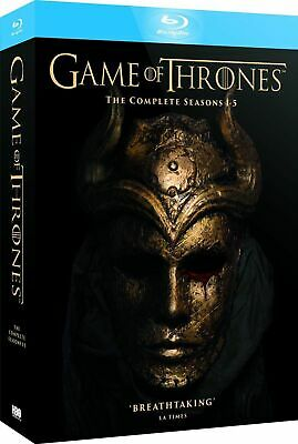 Brand New! GAME OF THRONES Seasons 1-5 Blu-ray Box Set The Complete Collection