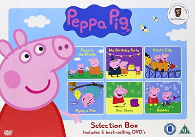 Peppa Pig Selection Box [New DVD]