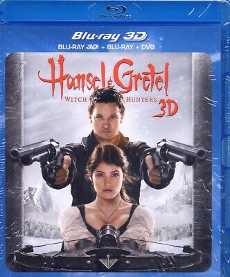 Hansel & Gretel Witch Hunters 3D Combo Blu-ray 3D + Blu-ray+ DVD (NEUF EMBALLE)