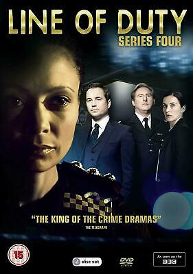 Line of Duty Series 4 Season 4 dvd boxset new and sealed uk instock - Fast Post