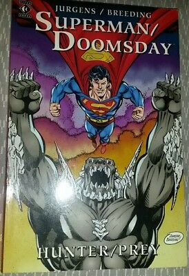 SUPERMAN DOOMSDAY Hunter Prey Jurgens Breeding TITAN BOOKS 1995