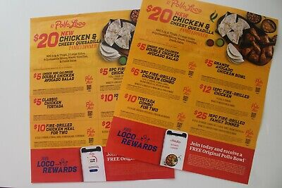 El Pollo Loco Coupons (Exp 8/28/2019)