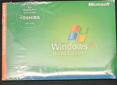 Microsoft Windows XP for Toshiba Satellite 5205 SEALED