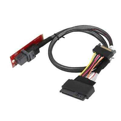M2 NGFF NVME PCIe to U.2 U2 Kit SFF-8639 SSD Adapter Cable For Mainboard & Intel