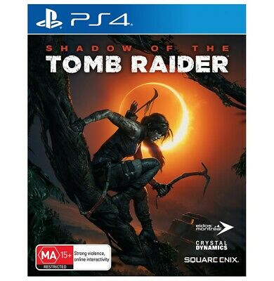 Shadow Of The Tomb Raider PlayStation 4 PS4 Brand New Sealed