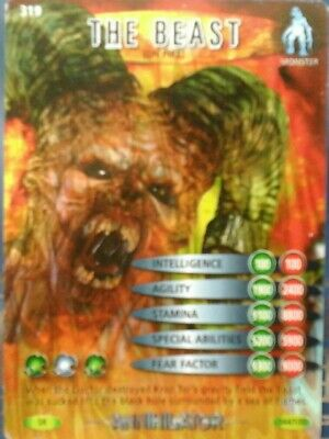 Doctor Who, Battles In Time ,Type Card . The Beast