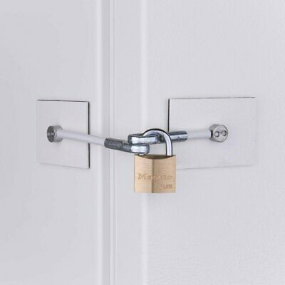 Marinelock 1 X Fridge Door Lock in White plus padlock