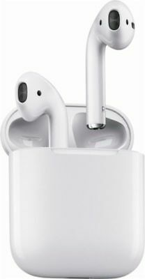 Apple AirPods White In-Ear Headsets with Charging Case