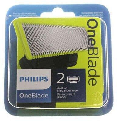 Philips OneBlade Lot de 2 lames de rechange QP220/50 One Blade NEUVES