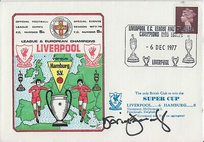 David Fairclough Hand Signed First Day Cover - Liverpool Autograph.